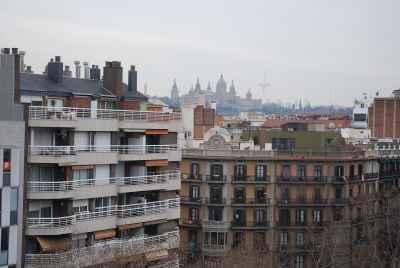 Просторная квартира в центре с видами на город